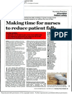 Making Time for Nurses to Reduce Patient Falls