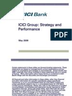 2009 04 FY2009 ICICI Bank Investor Presentation
