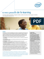 INTEL Livre Blanc Effets Positifs Elearning 2009