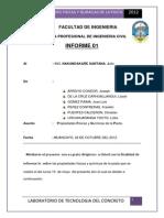 INFORME de Mezcla de Ralacio de Agua Cemento 2