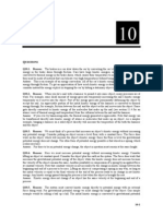 Sample Solutions Manual Chapter
