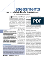 Risk Assessments Top 10 Pitfalls and Tips for Improvement