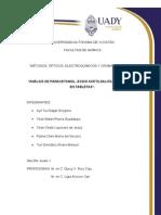 Análisis de AAS, paracetamol y cafeina por HPLC.