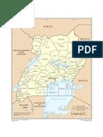 Map - Uganda
