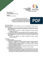 Jurys - enseignement secondaire - CESS général - 2013-2014 - appel aux candidats (ressource 10422)