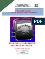 EEC 126 Instrumentation 1-Theory