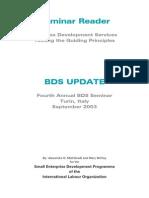 ILO BDS Reader 2003 Update