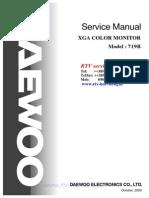Daewoo 719b Monitor Sm