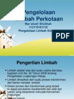 3. Limbah Perkotaan Dan Peraturan Terkait
