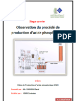 Production Acide Phosphorique