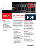 Brocade Advanced Performance Monitoring Data Sheet