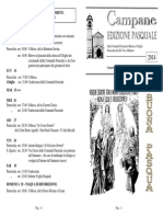 Edizione Pasquale 2014