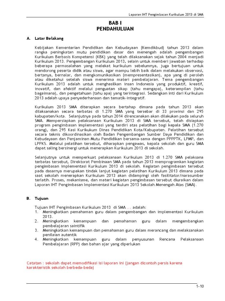 3c Format Laporan Iht Pengimbasan Isi