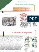 thème 2 - comment les pouvoirs publics peuvent-ils assurer la justice socialeppt