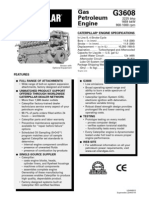 G3608 Spec Sheet