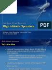 Appendix 3-E High Alt Operations