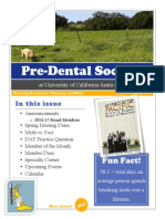2014 Spring PDS @ UCSC Issue 01 Newsletter