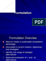 Formulate&Implement
