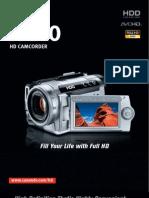 Canon Hg10 Brochure 070913