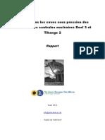 Défauts dans les cuves sous pression des réacteurs des centrales nucléaires Doel 3 et Tihange 2.