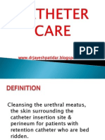 Ppt. Catheter Care