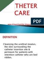 Ppt. Catheter Care