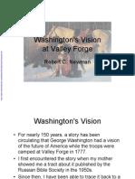 Washingtons Vision