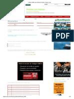 Códigos OBDII para vehículos Chrysler, Dodge y Jeep