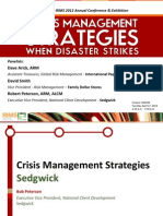 CLM204 -- Crisis Management Strategies When Disaster Strikes