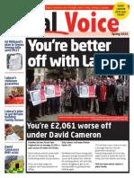 Labour South East European Election paper