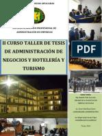 Curso Taller de Tesis - Brochure