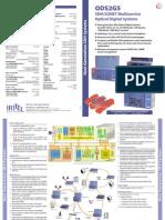 IRITEL ODS2G5 SDH SONET STM16 2G5 OPTICAL TRANSPORT SYSTEM