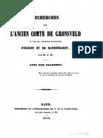 Recherches sur l'ancien comté de Gronsveld et sur les anciennes seigneuries d'Elsloo et de Randenraedt / par M.J.W.