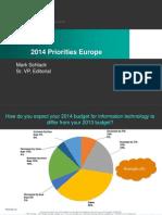 2014 Priorities Europe