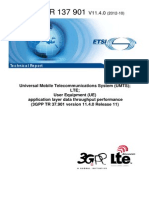 UMTS_LTE_UE_application Layer Data Throughput Performance