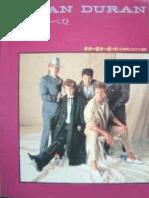 Duran Duran Best of Full Band Score [JAP]