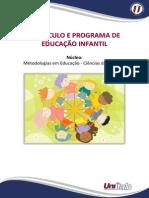 APOSTILA Currículo e Programa de Educação Infantil