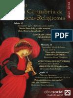 XLIII CICLO CAJA CANTABRIA DE MÚSICAS RELIGIOSAS