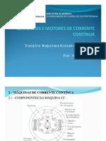 MAE - Geradores e Motores CC
