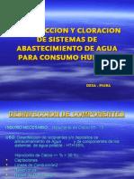 Desinfeccion y Cloracion de Sistemas de Abastecimiento De