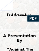 presentation on Job Order costing