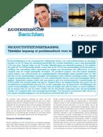 Economische Berichten - Productiviteitsvertraging