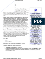 Wikipedia - Rabbinic Judaism