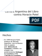 Cámara Argentina del Libro contra Horacio Potel