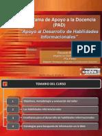 PAD_Habilidades Informacionales_Version Enero 2013