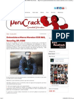 Entrevista a Marco Morales CCIE R&S, Security, SP, CCDE _ Peru Crack