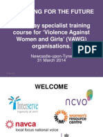 Violence Against Women and Girls (Newcastle)