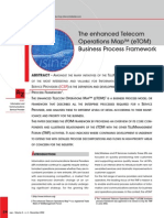 eTOM - Enhanced Telecom Operations Map