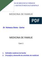 Medicina de Familie (Amg) - Curs 1