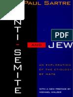 Sartre, Jean-Paul - Anti-Semite and Jew (Schocken, 1976)